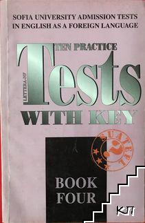 Ten practice tests with key. Book 4