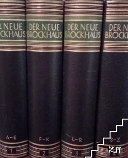 Der Neue Brockhaus. Bänd 1-4