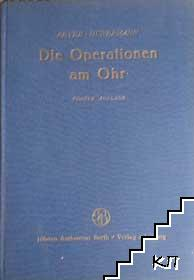 Die operationen am Ohr