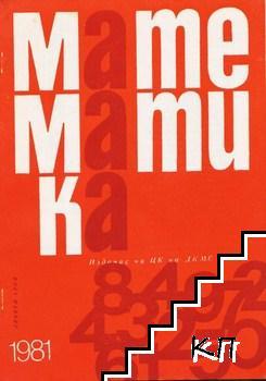 Математика. Бр. 9 / 1981