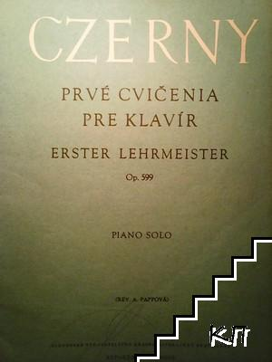 C. Czerny: Prvé cvičenia pre klavir. Op. 599