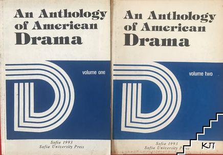 An anthology of american drama. Volume 1-2