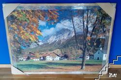 Тирол, Австрия / Tyrol, Austria. Пъзел в рамка, 3000 елемента
