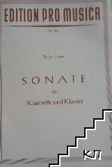 Sonate für Klarinette und Klavier