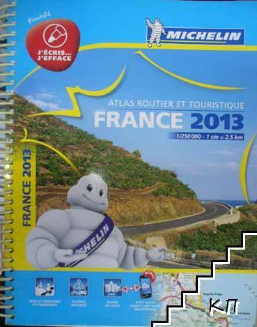 Atlas routier et touristique France 2013