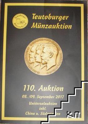 Teutoburger Münzauktion. Auction № 110. 8-9 Sep 2017