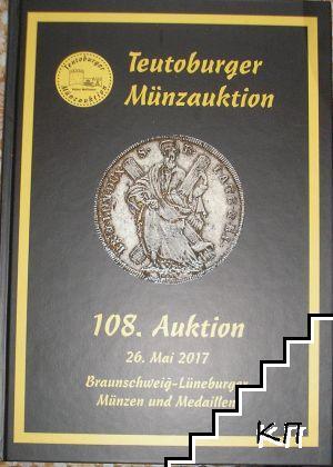 Teutoburger Münzauktion. Auction № 108. 26. May 2017