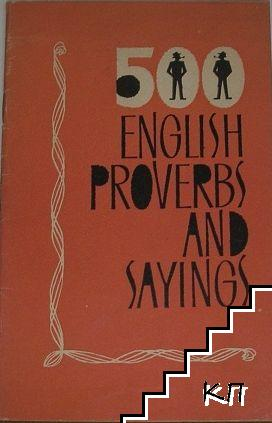 500 English proverbs and sayings with their translations and equivalents