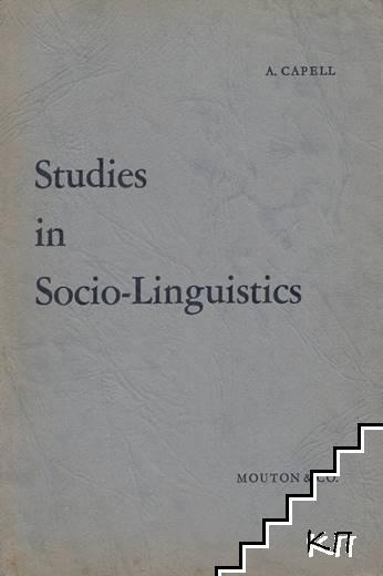 Studies in Socio-Linguistics