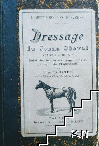 Dressage du jeune cheval a la selle et au trait
