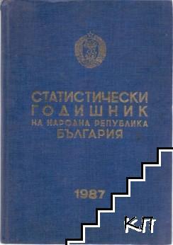 Статистически годишник на Народна република България 1987