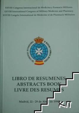 Libro De Resumenes. Abstracts Book. Livre des Resumes