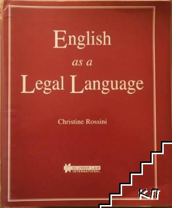 English as a legal language