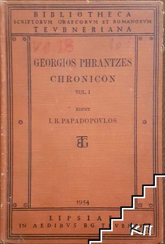 Chronicon. Vol. 1