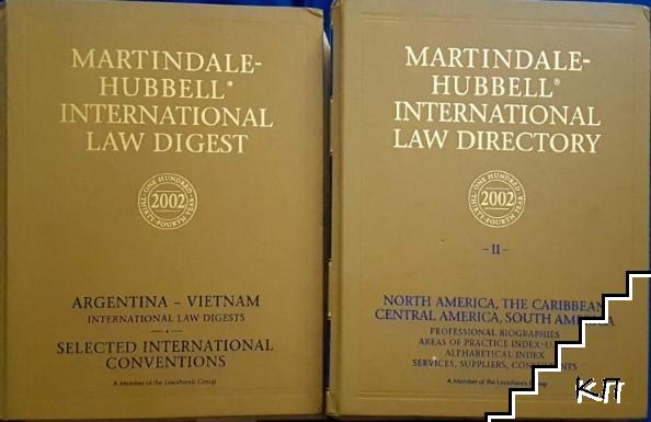 Martindale Hubbell international law digest 2002. Vol. 1-2
