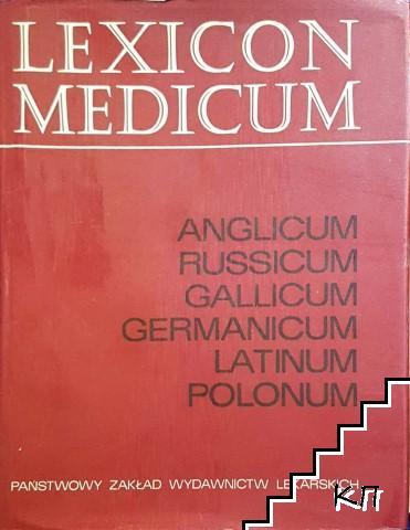 Lexicon Medicum: Anglicum, Russicum, Gallicum, Germanicum, Latinum, Polonum