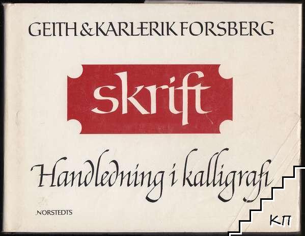 Skrift: Handledning i kalligrafi