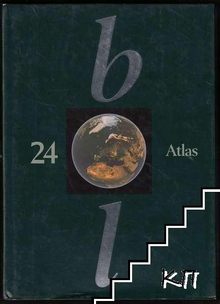 Bonniers Lexikon 24: Atlas