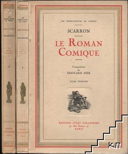 Le Roman Comique en deux volumes. Vol. 1-2