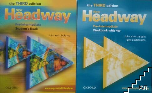 New Headway Pre-intermediate The Third Edition Students Book With Key