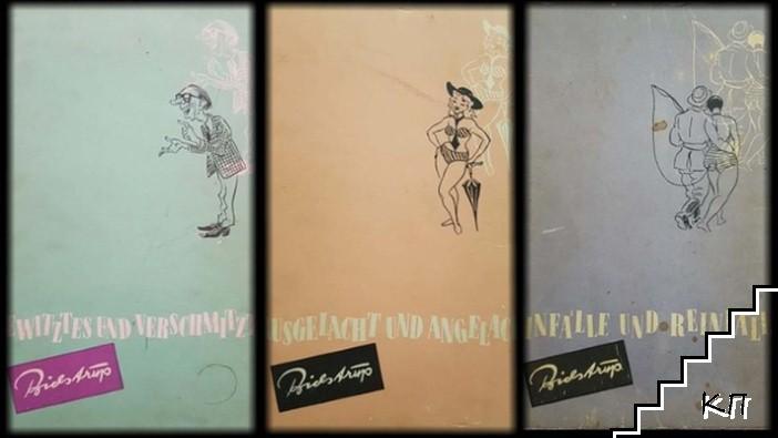 Humoristische und satirische Bildserien. Vol. 1-3