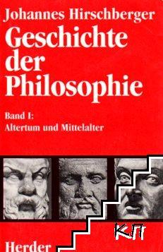 Geschichte der Philosophie. Band 1