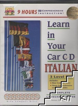 Learn in Your Car Italian. 3 Level Set
