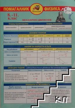 Помагалник по физика за 8.-11. клас