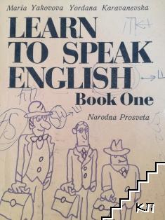 Learn to speak Englsh. Book 1