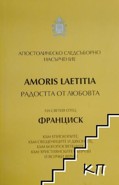 """Апостолическо следсъборно насърчение """"Радостта от любовта"""" (Amoris Laetitia)"""