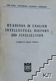 Readings in english intellectual history and civilization