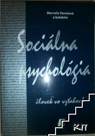 Sociálna psychológia - človek vo vzťahoch