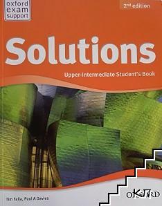 Solutions Upper-Intermediate Student's book