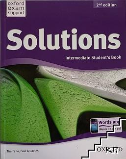 Solutions Intermediate Student`s book