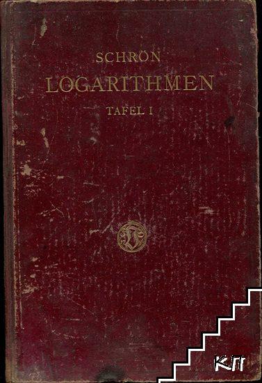 Logarithmen der Zahlen von 1 bis 108000