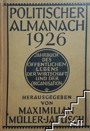 Politischer almanach 1926
