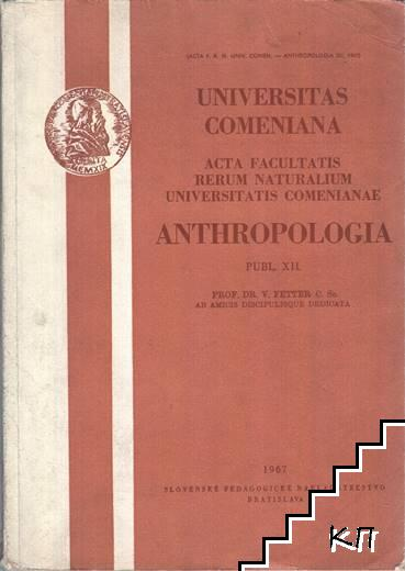 Anthropologia. Publ. XII