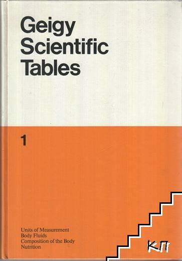 Geigy Scientific Tables. Vol. 1