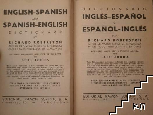 Diccionario Inglés-Español y Español-Inglés / English-Spanish and Spanish-English