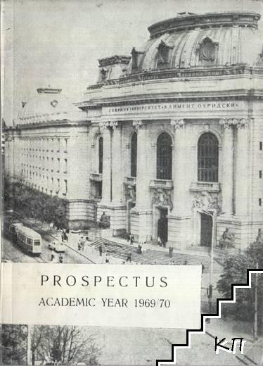 Prospectus. Academic Year 1969/70