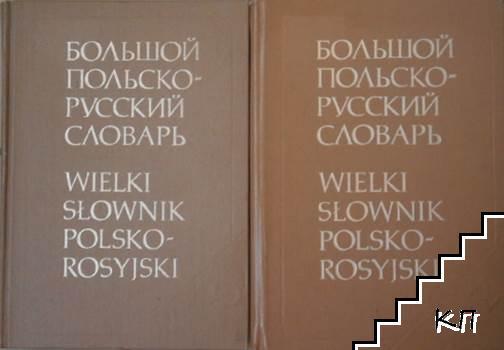 Большой польско-русский словарь в двух томах / Wielki słownik polsko-rosyjski. Том 1-2