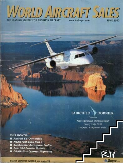 World aircraft sales / June 2003