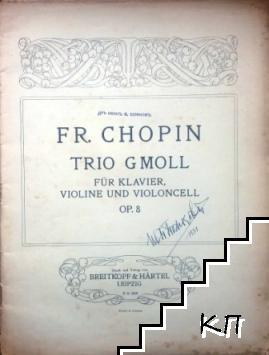 Trio Gmoll. Op. 8