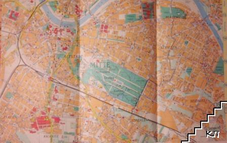 Dresden. Stadtplan (Допълнителна снимка 3)