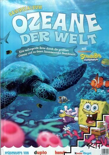 Sammelalbum. Ozeane Der Welt Mit Nickelodeon Spongebob Schwammkopf