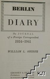Berlin diary the journal of a Foreign Correspondent