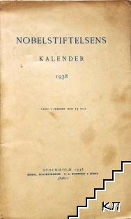 Nobelstiftelsens Kalender 1938