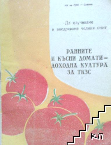 Ранните и късни домати - доходна култура за ТКЗС