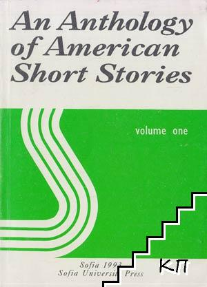 An Antology of American Short Stories. Vol. 1