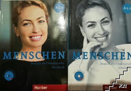 Menschen A 2.2. Kurssbuch + Arbeitsbuch